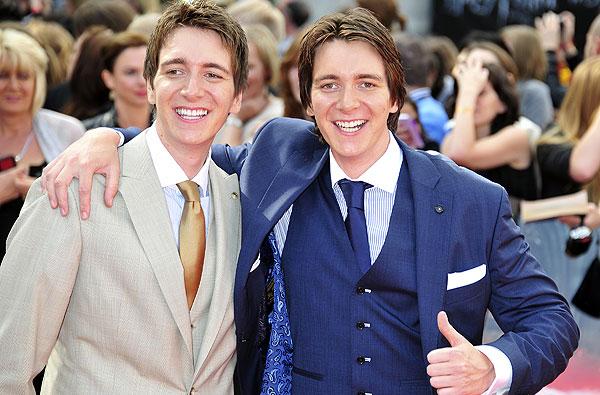 Оливер и джеймс фелпс фото global look press