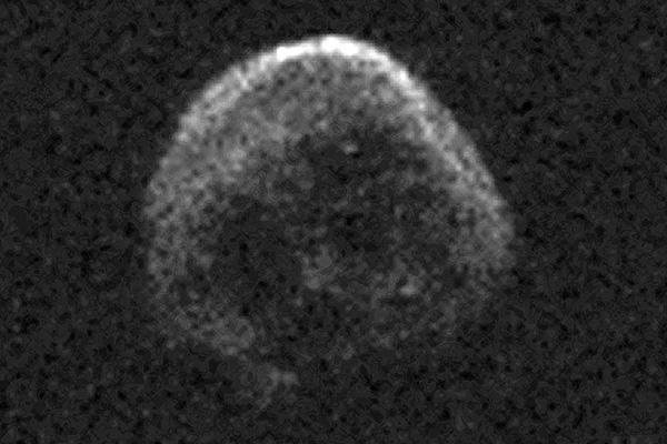 Астероид на подлете