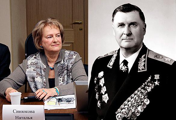 Наталия Синюкова (Соколовская) и Василий Соколовский. Фото из архива Дней.Ру