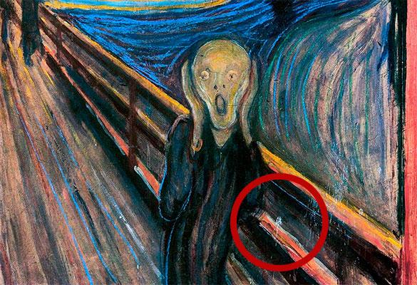 Ученые пояснили происхождение таинственного пятна накартине Мунка «Крик»