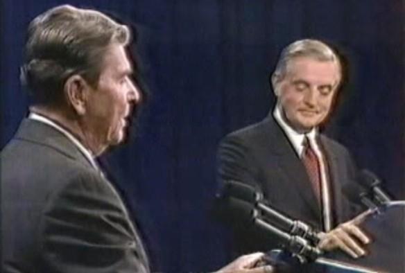 Рональд Рейган и Уолтер Мондейл. Фото: youtube.com