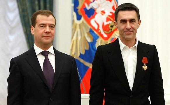 Дмитрий Медведев и Вячеслав Бутусов. Фото: kremlin.ru