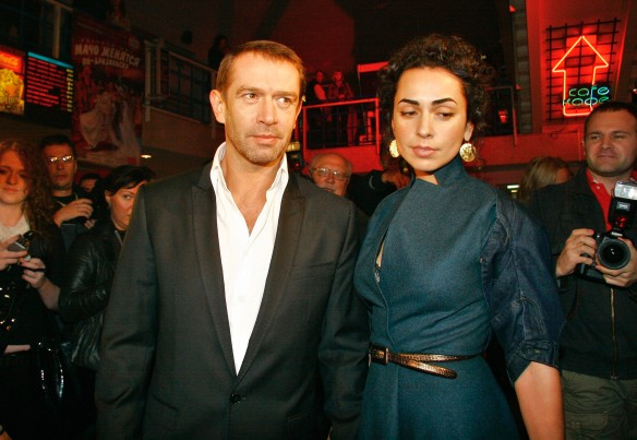 Vladimir Mashkov and Oksana Shelest. Photo: Julia Hanina/ITAR-TASS