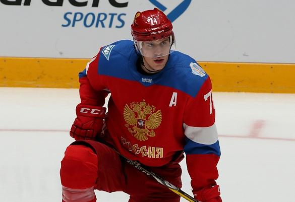 Евгений Малкин. Фото: GLOBAL LOOK press/Alexander Kulebyakin