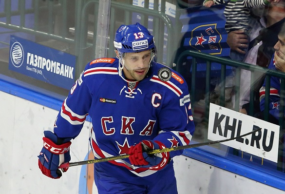 Павел Дацюк. Фото: GLOBAL LOOK press/Alexander Kulebyakin