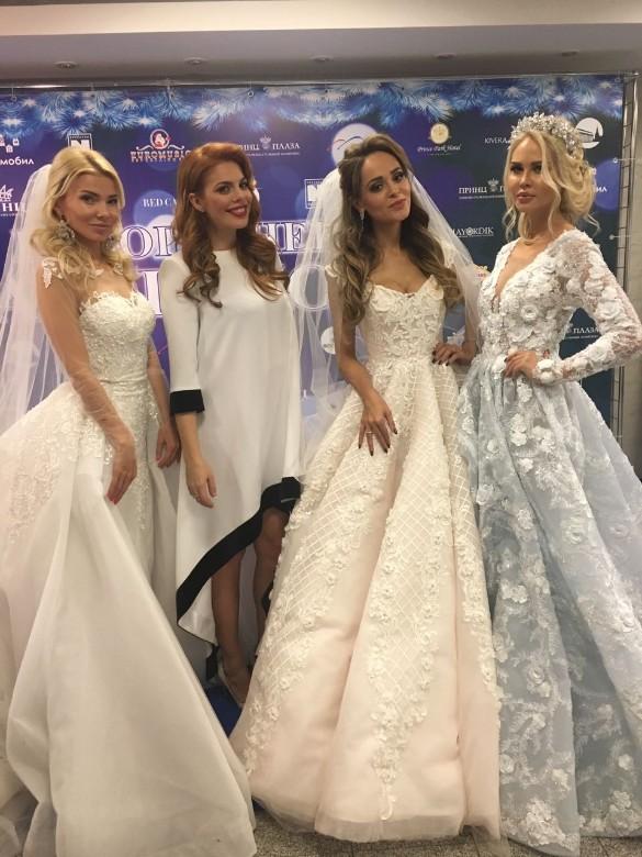 Калашникова анна в свадебном платье