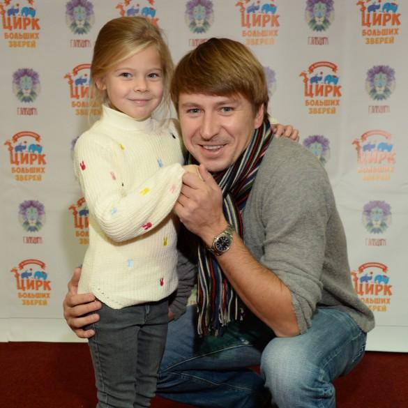 Алексей Ягудин с дочерью. Фото: личный архив