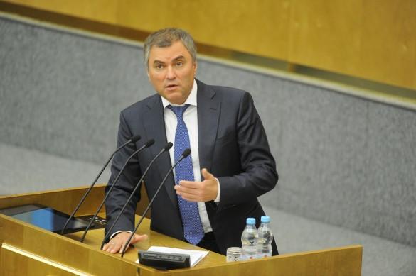 Вячеслав Володин. Фото: GLOBAL LOOK press\ Komsomolskaya Pravda