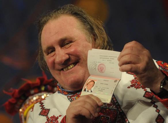 Депардье подал всуд намосковскую предпринимательницу