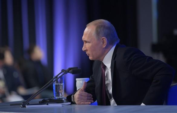 Владимир Путин в12-й раз проведет большую пресс-конференцию