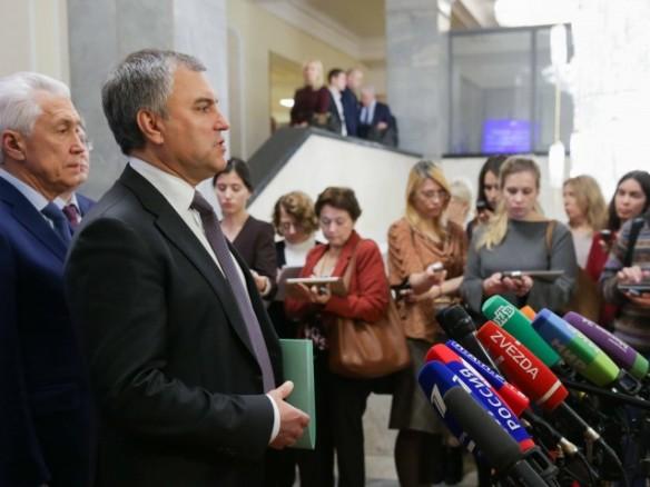 Володин озвучил позицию поПАСЕ: Европарламент живет поархаичным законам