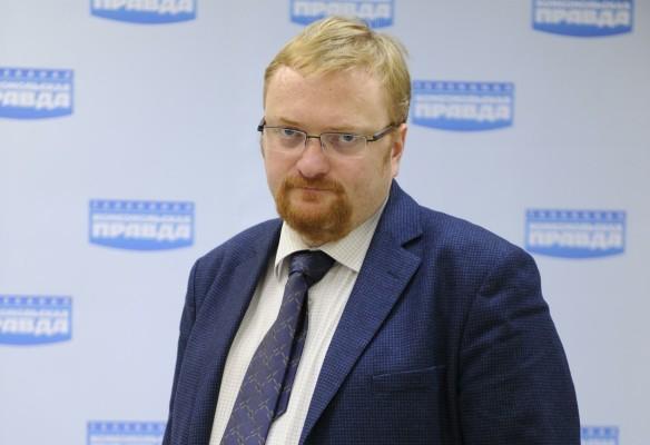Виталий Милонов. Фото: GLOBAL LOOK press\Pravda Komsomolskaya