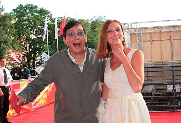 Егор Кончаловский и Любовь Толкалина. Фото: GLOBAL LOOK press/Natalya Loginova