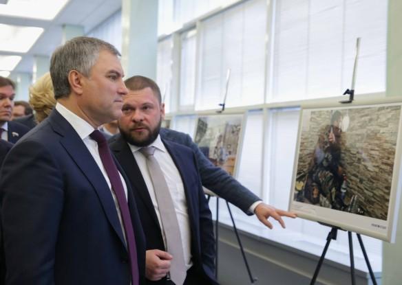 Володин предложил показать избранникам Европы правду овойне вСирии