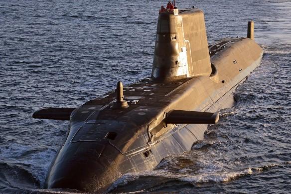 """Подводная лодка типа """"Астьют"""". Фото: wikipedia.org"""