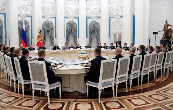 Путин подчеркнул успешную работу русских военных поборьбе стерроризмом вСирии