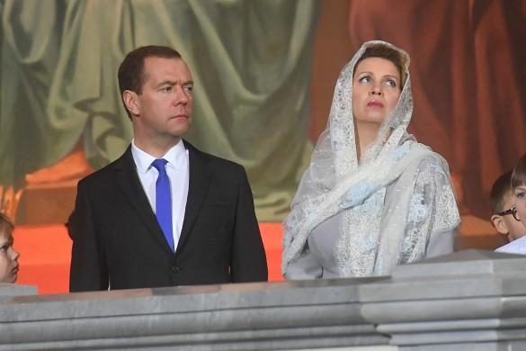 Дмитрий и Светлана Медведевы. Фото: GLOBAL LOOK press/Komsomolskaya Pravda