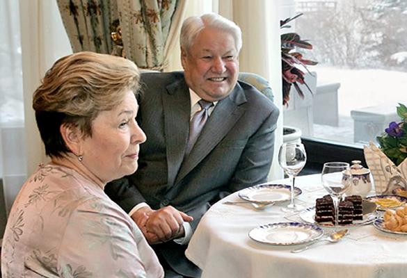 Наина и Борис Ельцины. Фото: wikimedia.org