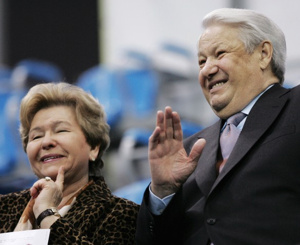 Наина и Борис Ельцины. Фото: Dima Korotayev/Epsilon/Getty Images