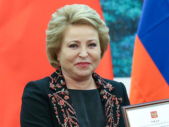 Валентина Матвиенко. Фото: GLOBAL LOOK press