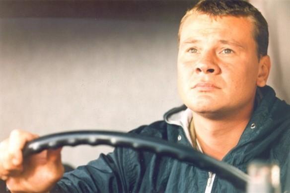"""Владислав Галкин. Кадр из сериала """"Дальнобойщики"""""""