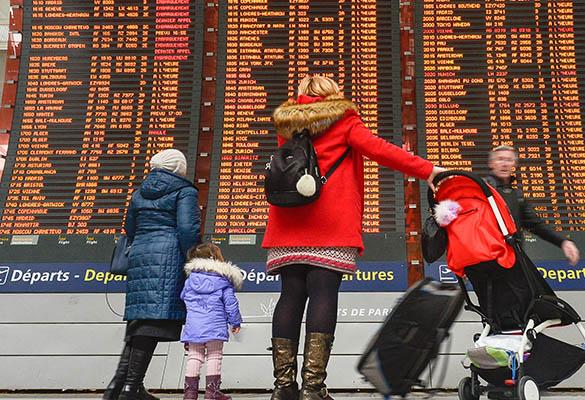Росстат: число иностранных  поездок граждан России  уменьшилось  на8% в прошлом году