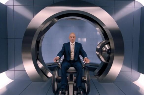 """Патрик Стюарт. Кадр из фильма """"Люди икс"""""""
