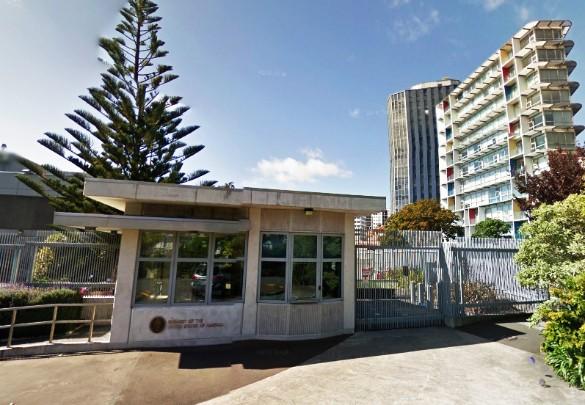 Посольство США в пригороде Веллингтона, Новая Зеландия. Фото: google.ru/maps