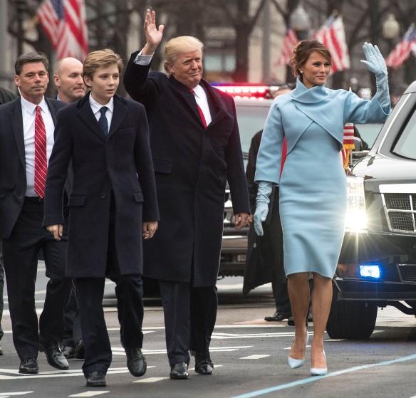 Дональд и Мелания Трамп. Фото: GLOBAL LOOK press\Kevin Dietsch
