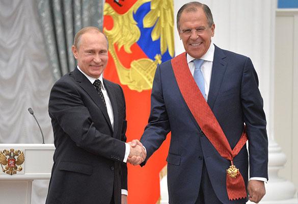 Владимир Путин и Сергей Лавров. Фото: kremlin.ru