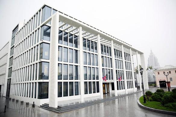 Новое здание Мосгордумы. Фото: duma.mos.ru
