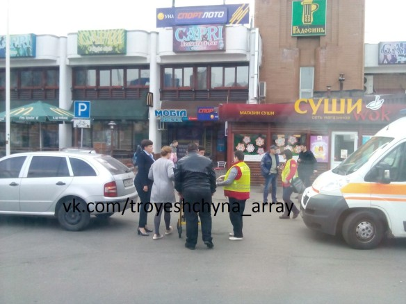Савченко сбила пенсионерку— упострадавшей травмировано колено