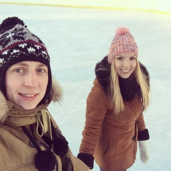 Евгений Руднев с женой. Фото: vk.com/id238701241