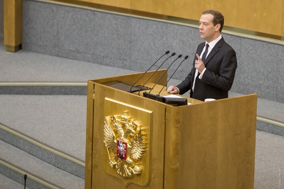 Дмитрий Медведев. Фото: Фото: Борис Тумаков/пресс-служба фракции