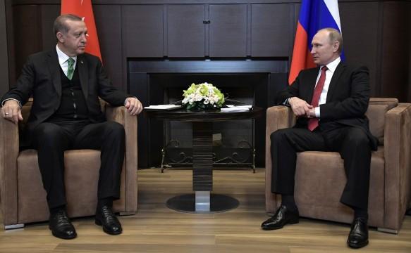 Реджеп Тайип Эрдоган и Владимир Путин. Фото: kremlin.ru