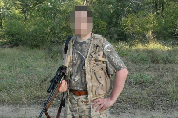 Предположительный подозреваемый в убийстве. Фото: vk.com