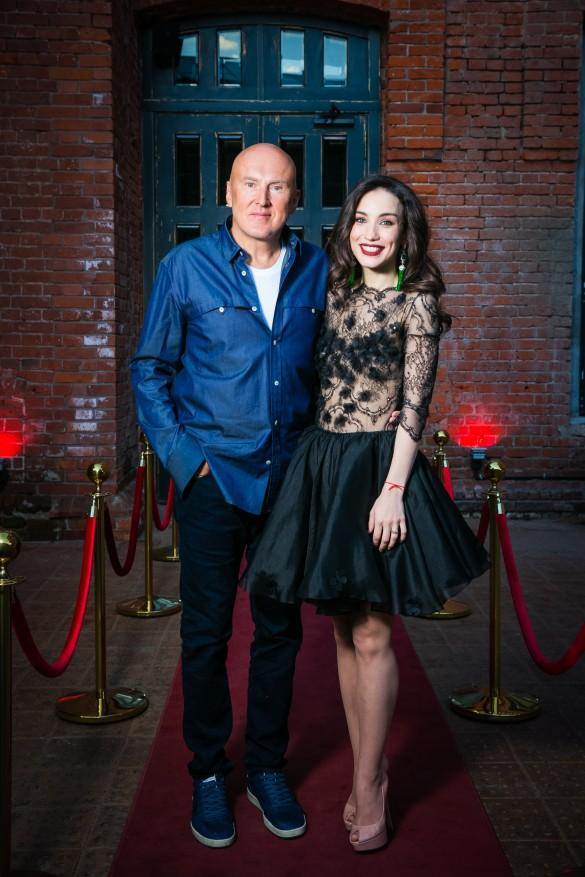 Игорь Матвиенко и Виктория Дайнеко. Фото: пресс-служба певицы.