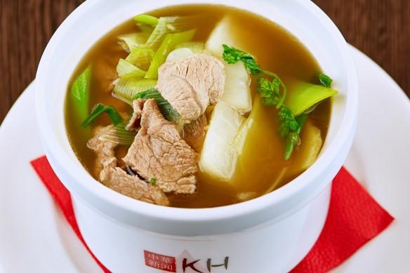 Суп с бараниной и дайконом. Фото: пресс-служба
