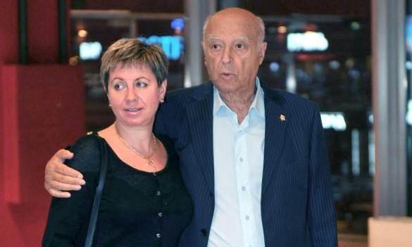 Владимир Этуш с женой. Фото: GLOBAL LOOK press/Pravda Komsomolskaya