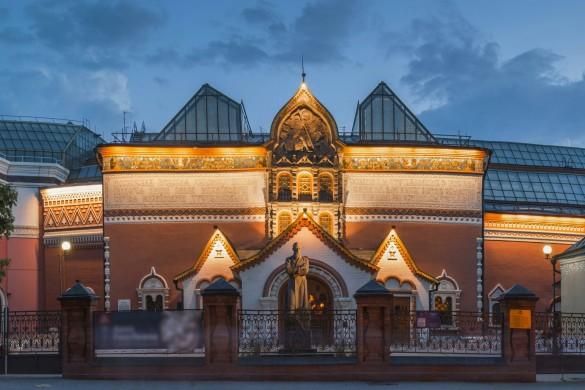 Третьяковская галерея. Фото: GLOBAL LOOK press/Konstantin Kokoshkin