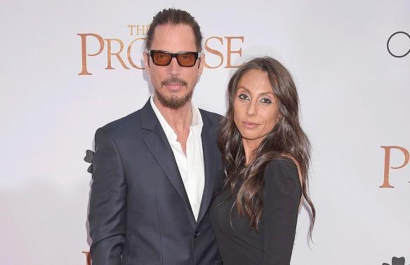 Крис Корнелл с женой Викки Карейианнис. Фото: GLOBAL LOOK press