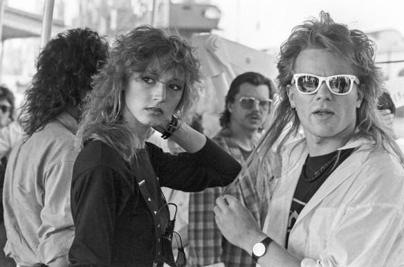 Кристина Орбакайте и Владимир Пресняков, 1988 год. Фото: Виктор Великжанин, Людмила Пахомова/ТАСС