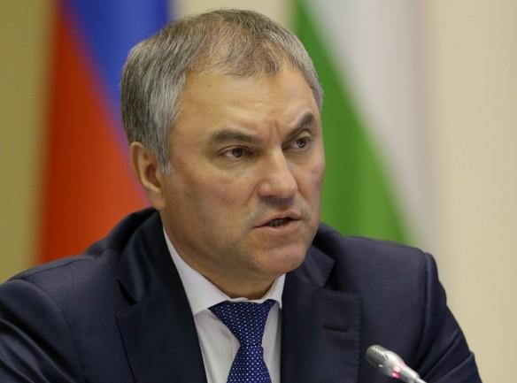 Володин призвал укреплять российско-сербские отношения