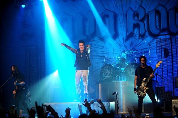 Группа Papa Roach. Фото: GLOBAL LOOK press/m78