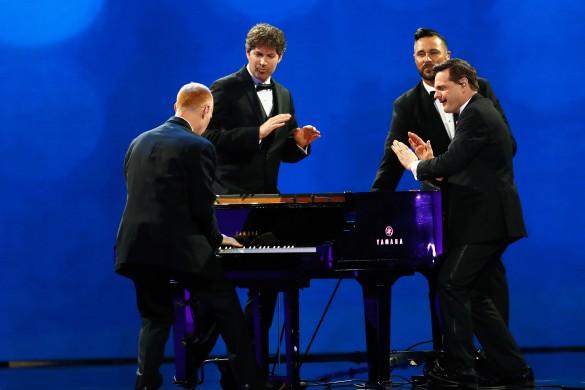 """Группа """"The Piano Guys"""". Фото: Aaron P. Bernstein/Gettyimages.ru"""