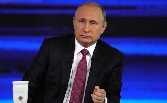 Владимир Путин. Фото: GLOBAL LOOK press\kremlin Pool