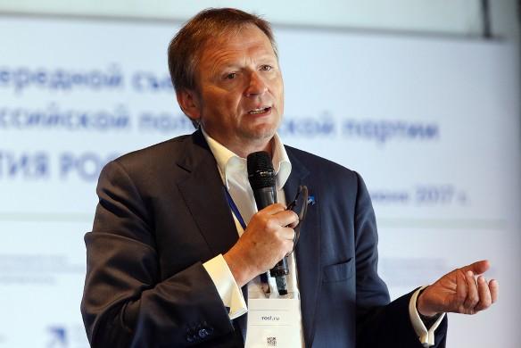 Председатель Партии роста Борис Титов. Фото: Владимир Гердо/ТАСС