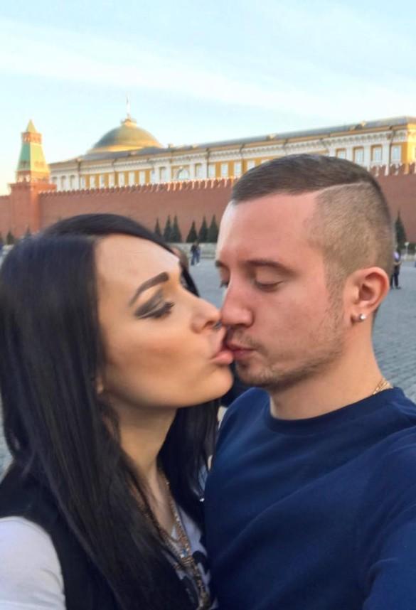 Илона Новоселова и Артем Бесов. Фото: facebook.com