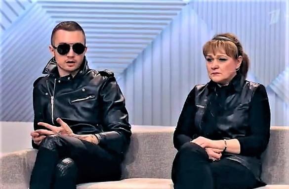 Артем Бесов и Елена Новоселова. Фото: скриншот 1tv.ru/live