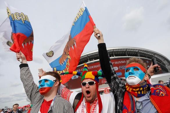 Спирт в Российской Федерации будут торговать покарте болельщика
